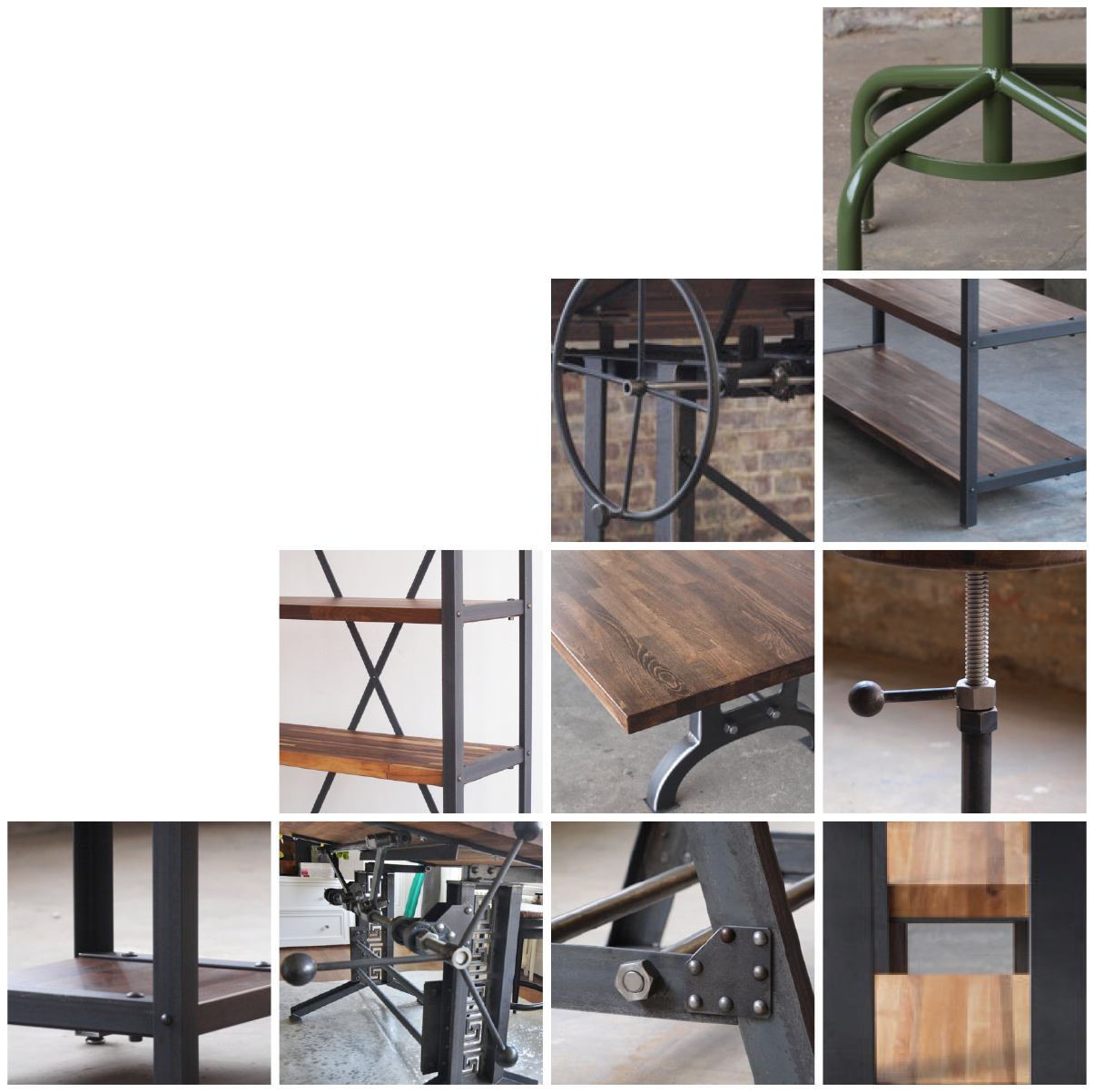 Beau Campos Iron Works Modern Industrial Furniture
